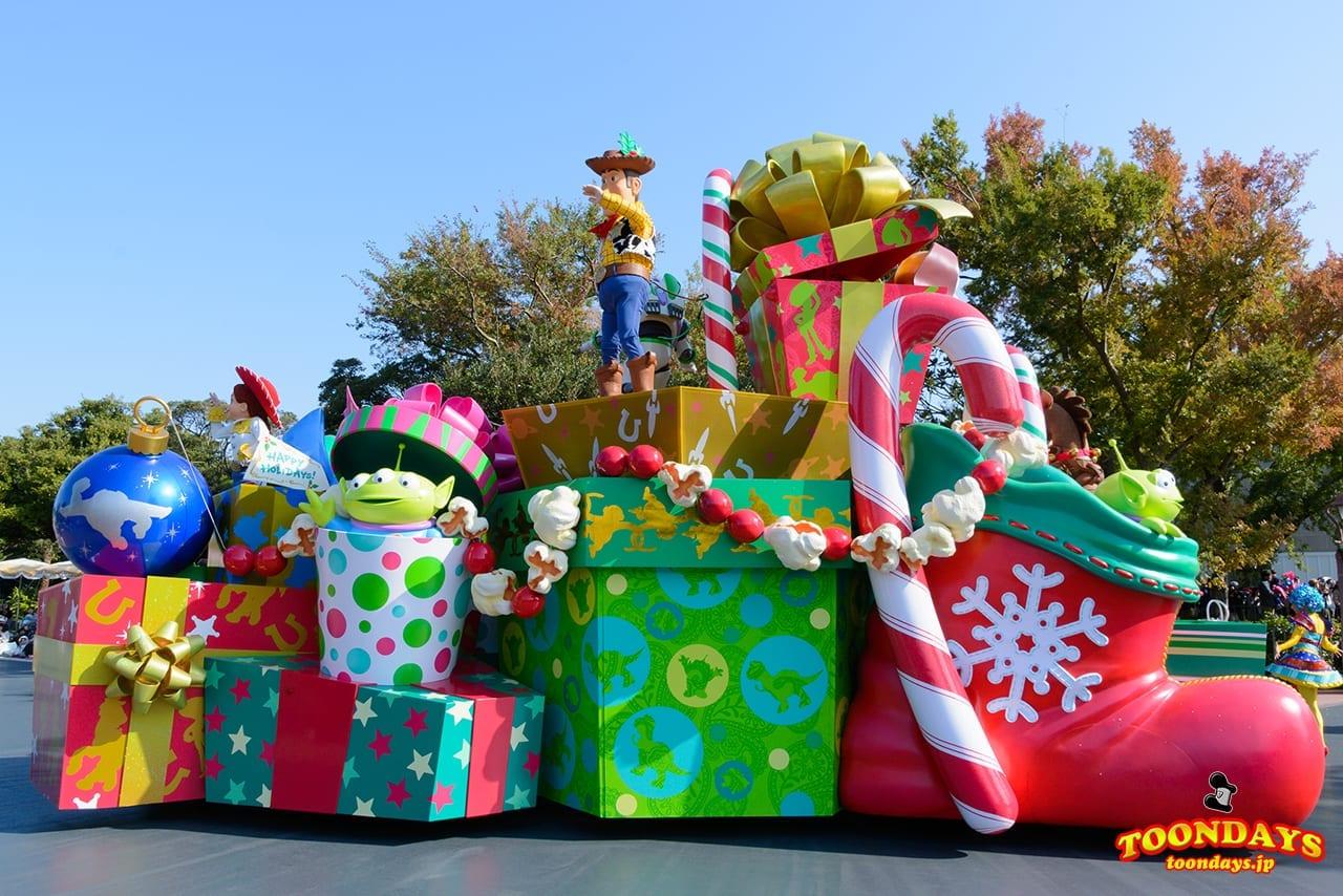 TDL クリスマス・ファンタジー 2016 ディズニー・クリスマス・ストーリーズ トイ・ストーリー