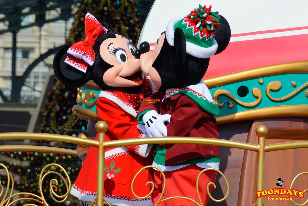 TDL クリスマス・ファンタジー 2016 ディズニー・クリスマス・ストーリーズ ミニーマウス ミッキーマウス