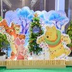 『くまのプーさん』のフォトスポットが「武蔵小杉 東急スクエア」に登場