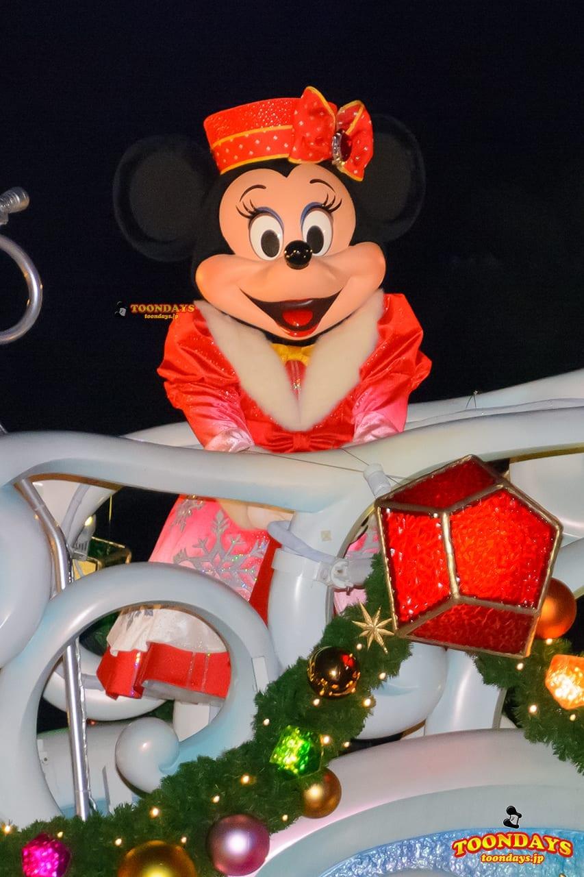 TDS クリスマス・ウィッシュ 2016 カラー・オブ・クリスマス~ナイトタイム・ウィッシュ~ ミニーマウス