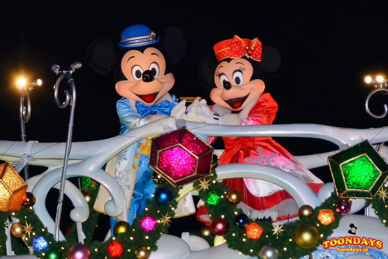 TDS クリスマス・ウィッシュ 2016 カラー・オブ・クリスマス~ナイトタイム・ウィッシュ~ ミッキーマウス ミニーマウス