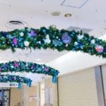 『ふしぎの国のアリス』のクリスマスデコレーションが東急百貨店 渋谷駅