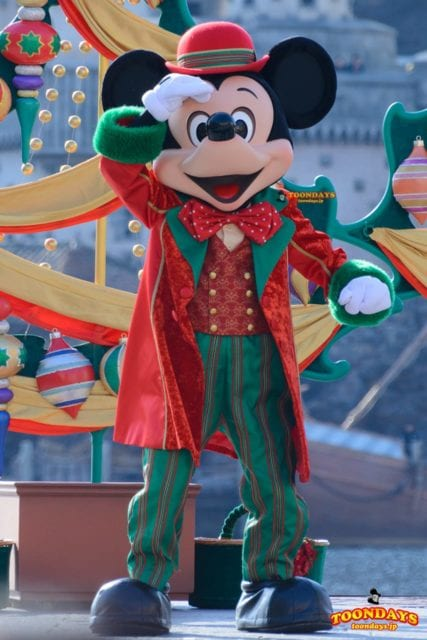 TDS クリスマス・ウィッシュ 2016 パーフェクト・クリスマス ミッキーマウス