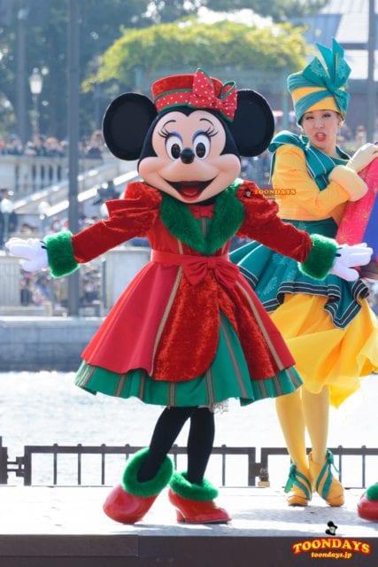 TDS クリスマス・ウィッシュ 2016 パーフェクト・クリスマス ミニーマウス