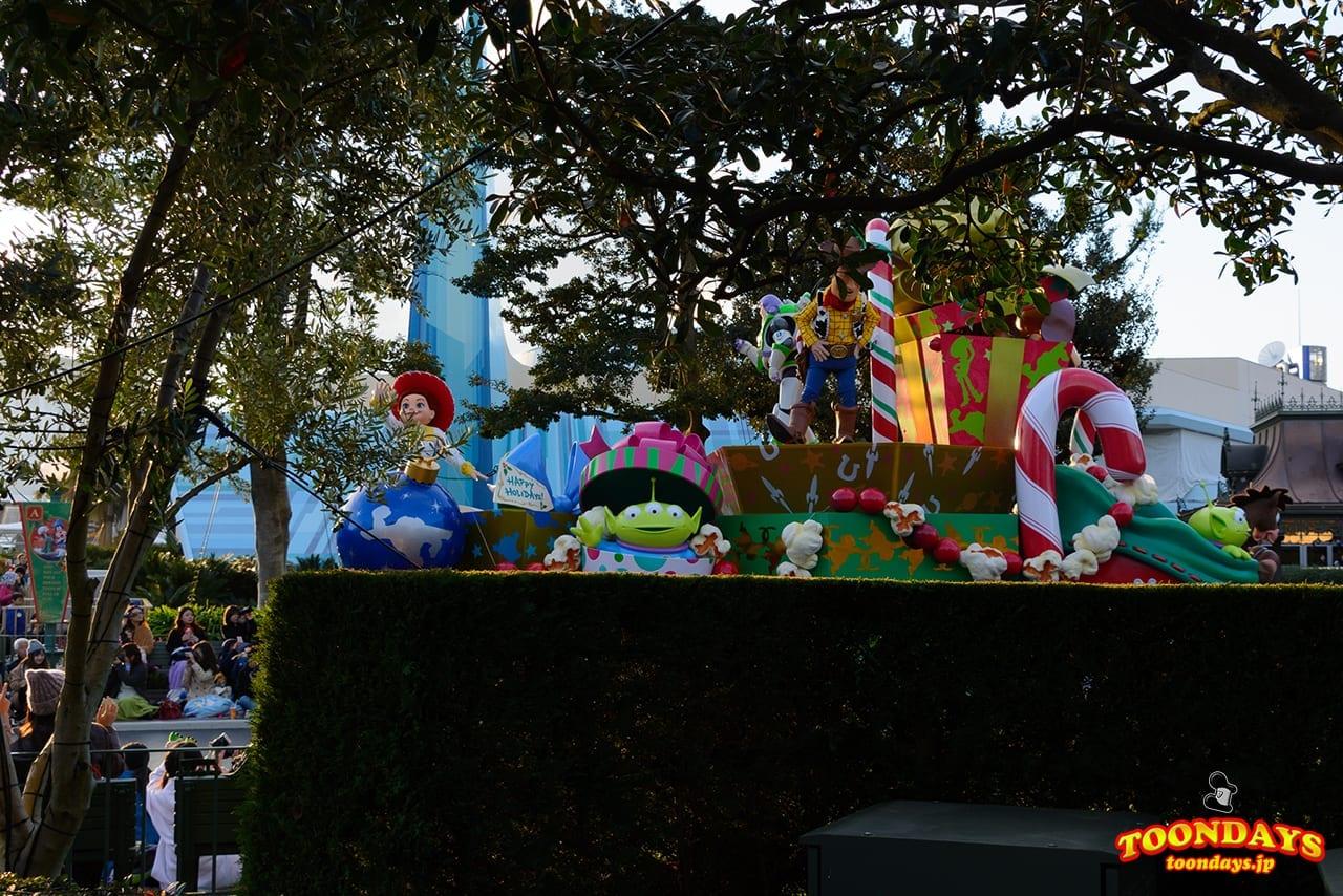 TDL クリスマス・ファンタジー 2016 ディズニー・クリスマス・ストーリーズ トイ・ストーリーポジ
