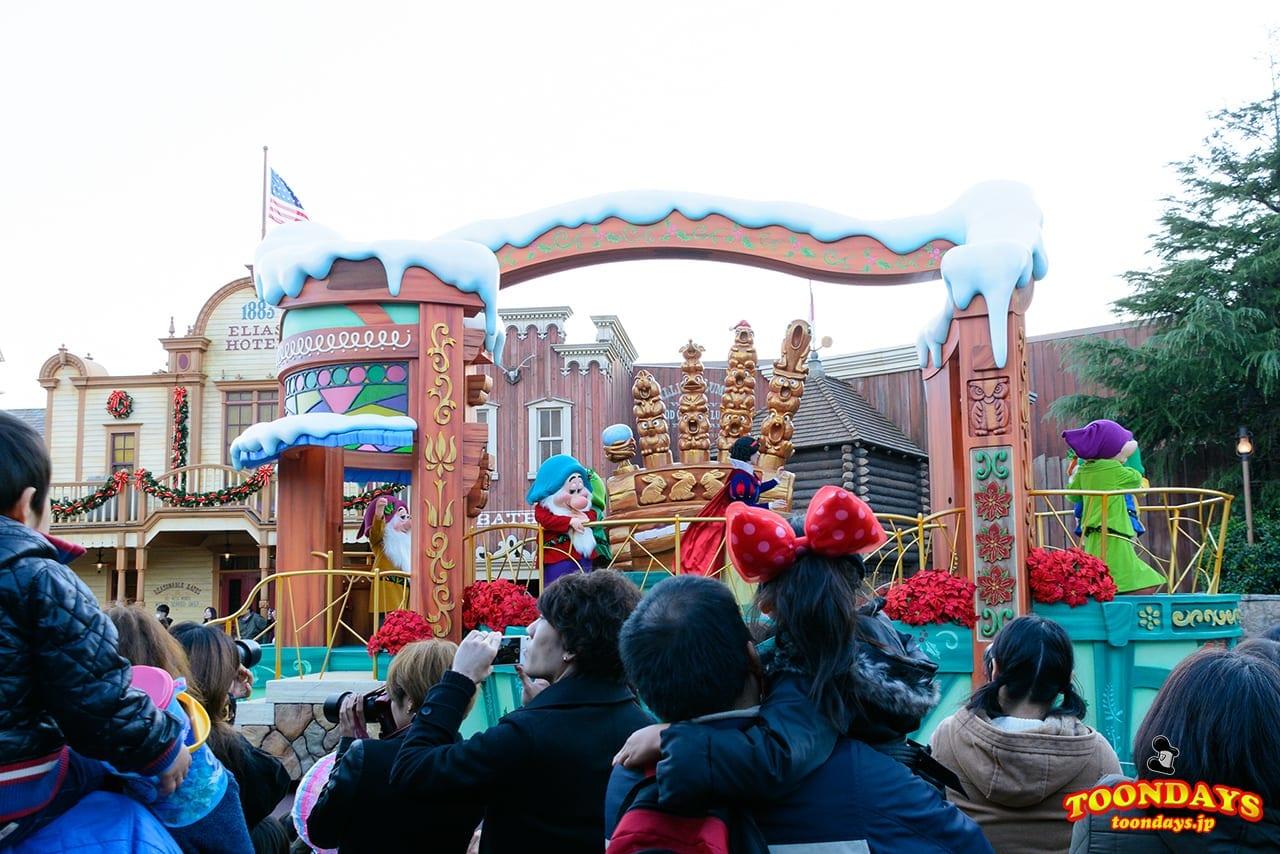 TDL クリスマス・ファンタジー 2016 ディズニー・クリスマス・ストーリーズ 白雪姫ポジ