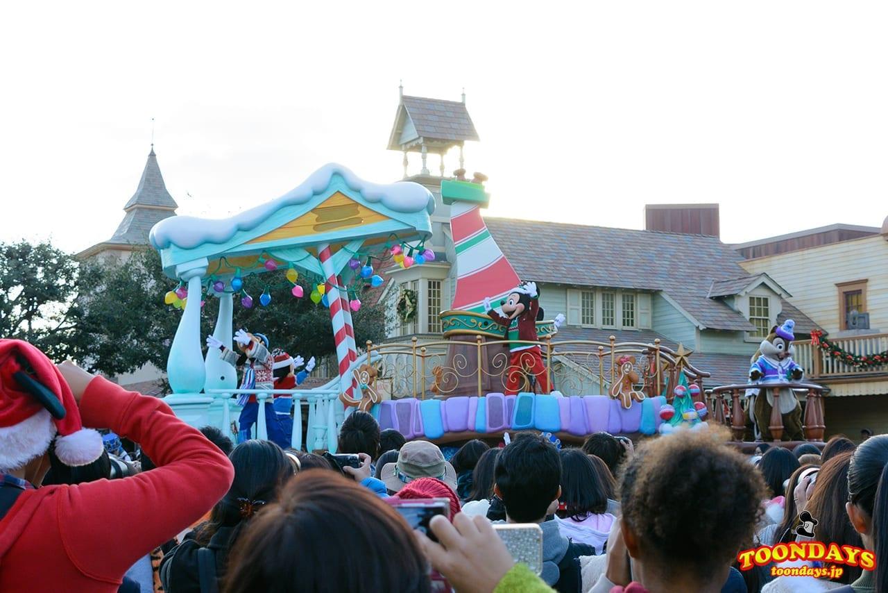 TDL クリスマス・ファンタジー 2016 ディズニー・クリスマス・ストーリーズ ミキポジ
