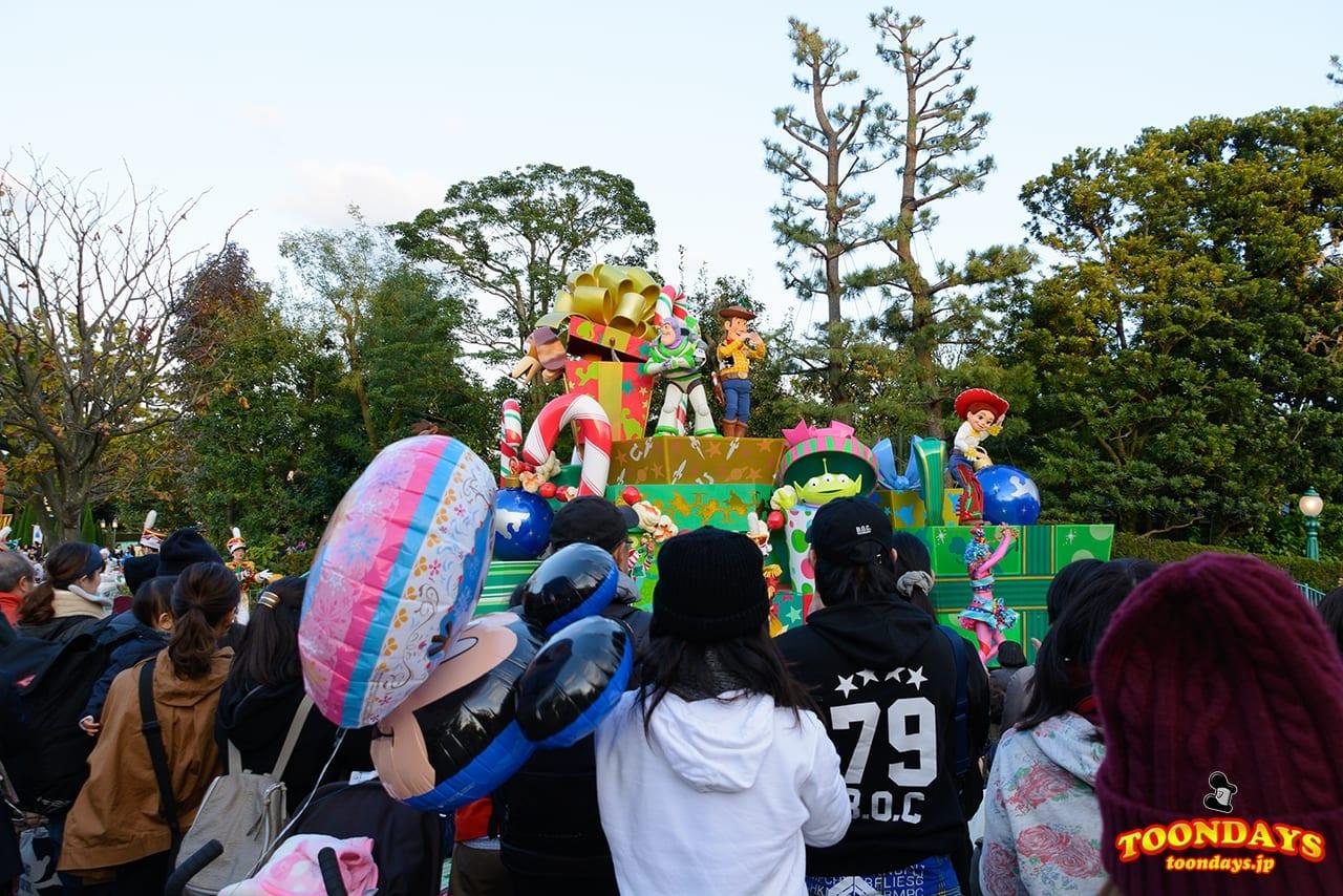 TDL クリスマス・ファンタジー 2016 ディズニー・クリスマス・ストーリーズ
