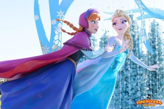 『アナと雪の女王』の新エリアのアトラクション(ファンタジースプリングス内)