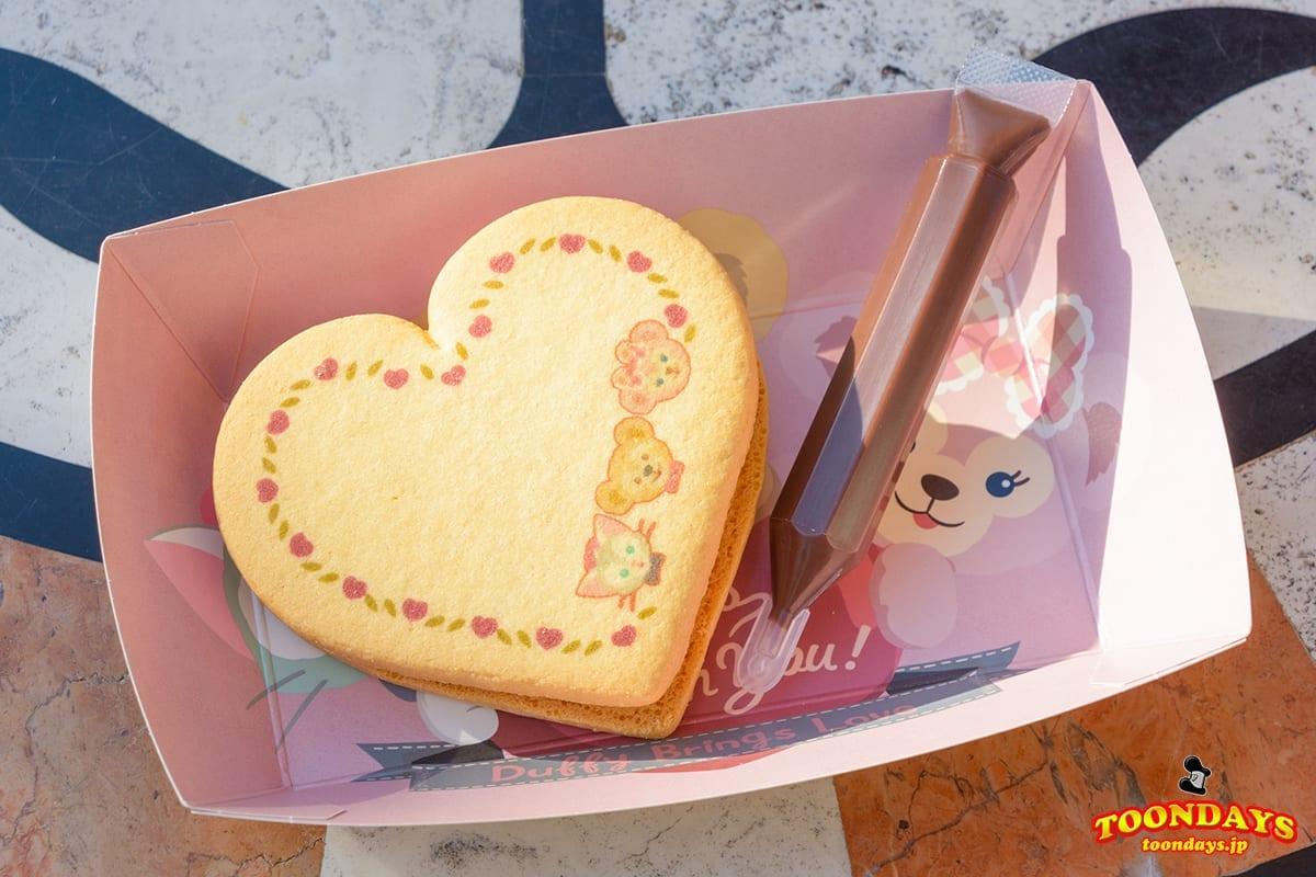 ハートクッキー(ラズベリー&バニラクリーム)