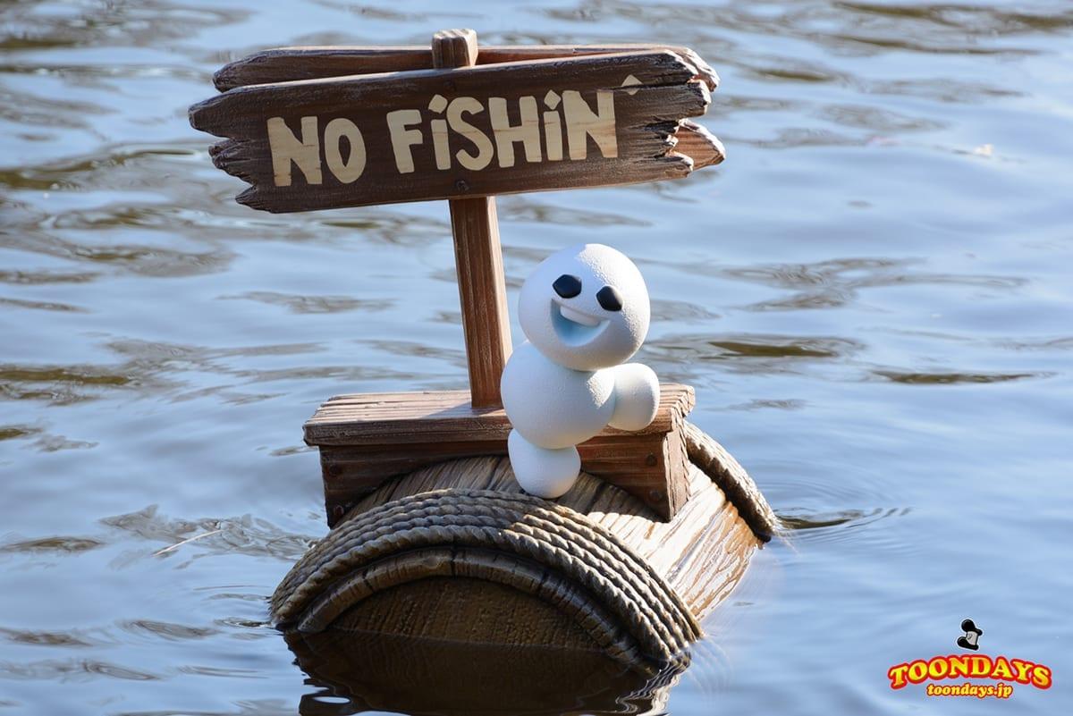 No Fishingのスノーギース