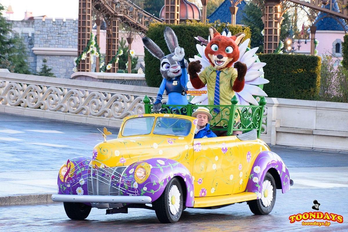 東京ディズニーランドにニックとジュディが初登場