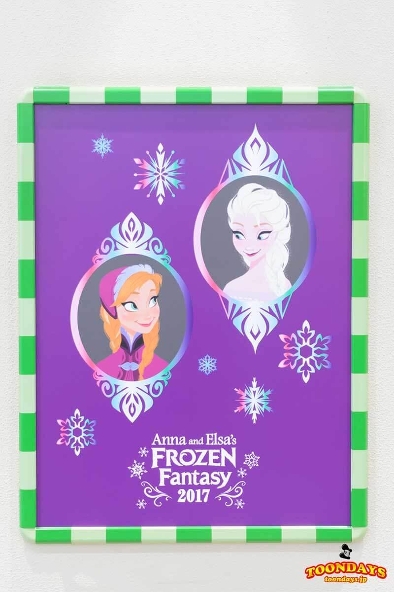 TDR ディズニーリゾートライン アナとエルサのフローズンファンタジー アナとエルサのポスター
