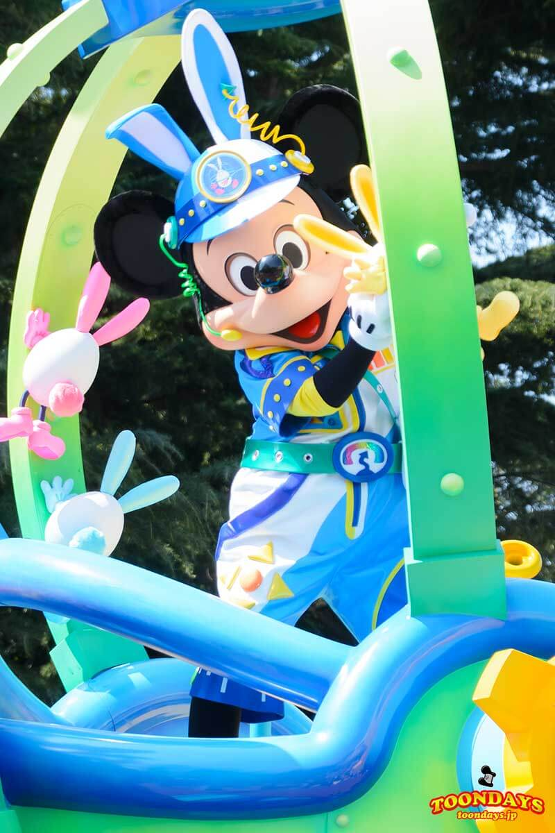 TDL ディズニー・イースター 2017 うさたま大脱走! ミッキーマウス3