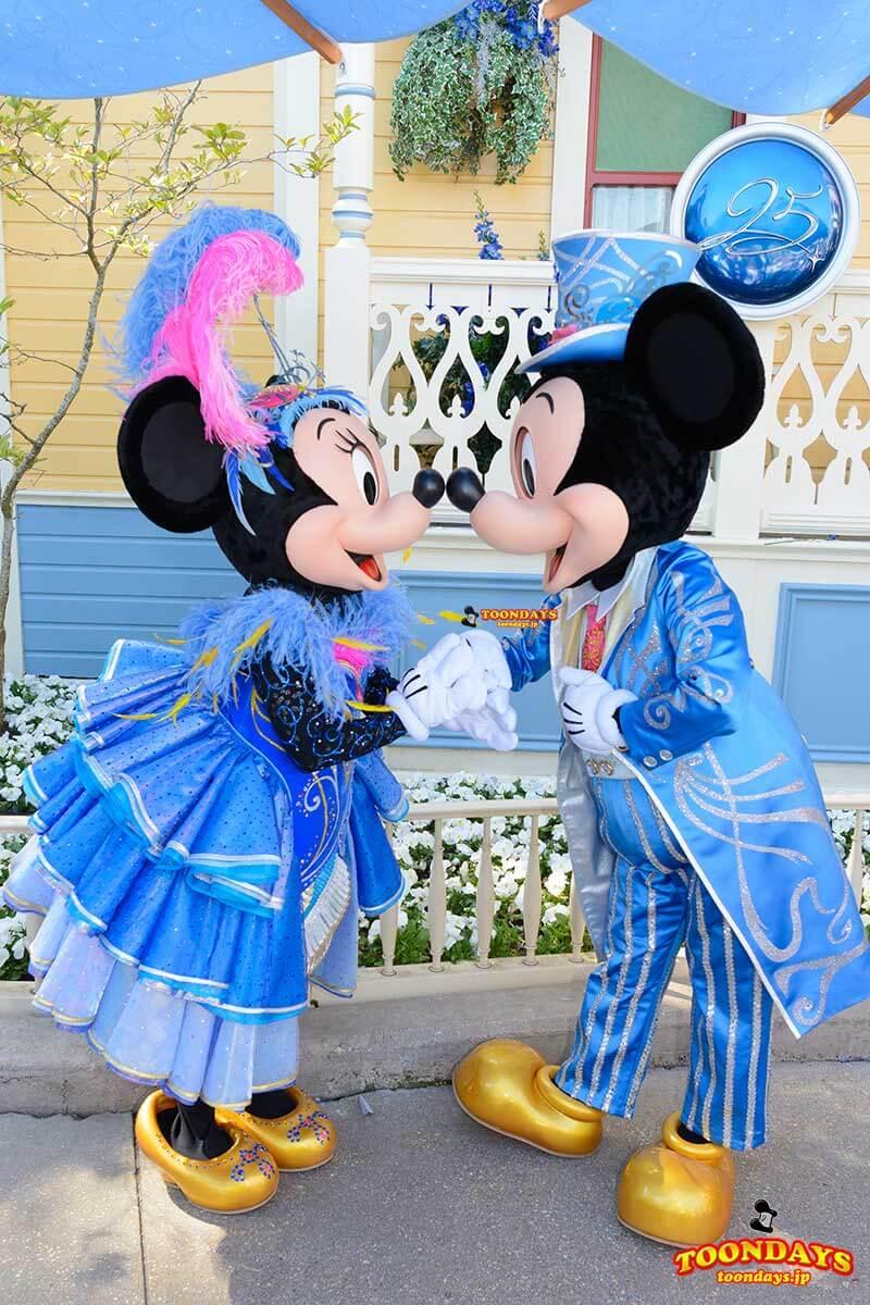 DLP メインストリートUSA グリーティング ミッキーマウス ミニーマウス 2