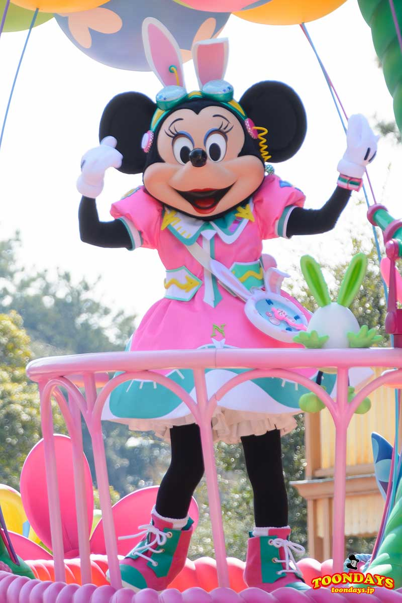 TDL ディズニー・イースター 2017 うさたま大脱走! ミニーマウス3