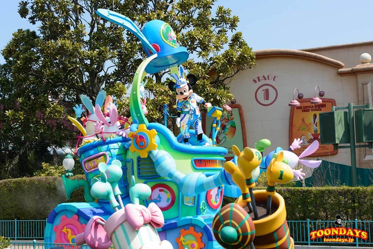 TDL ディズニー・イースター 2017 うさたま大脱走! ミッキーマウス