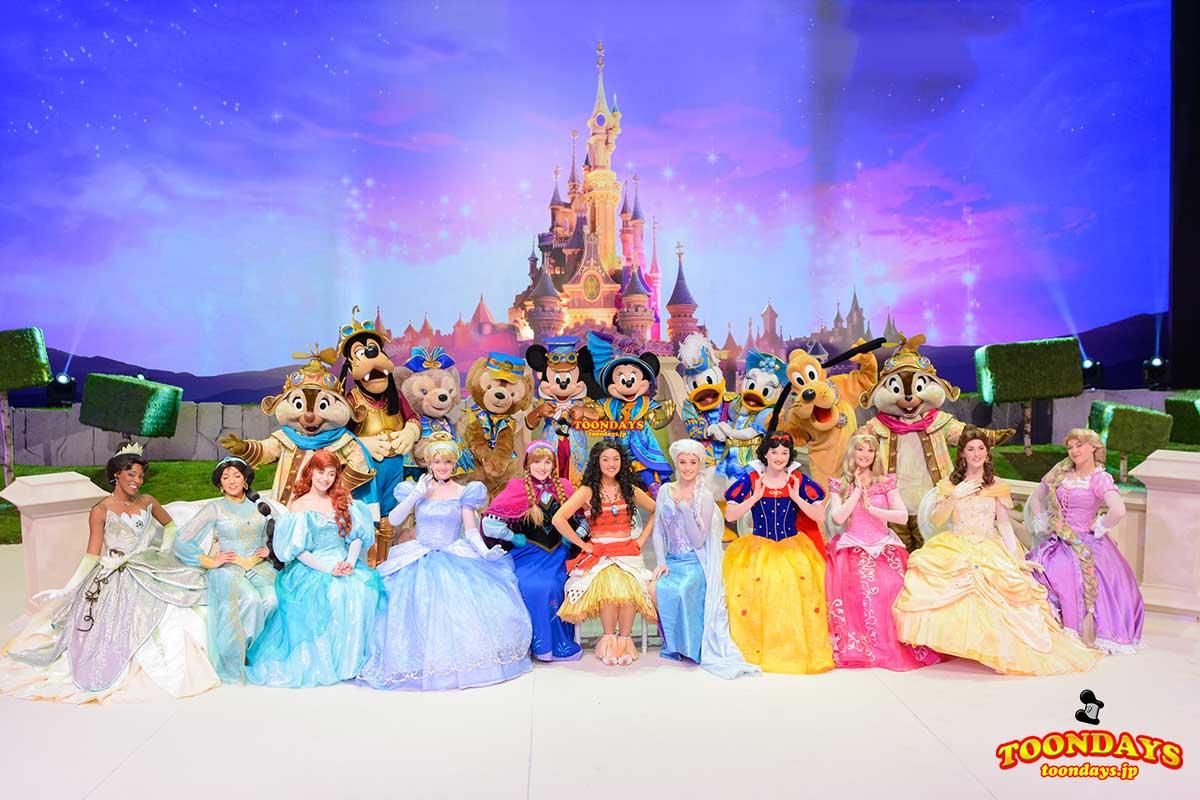 DLP 25周年 グリーティング ミッキー&フレンズ ディズニープリンセス 全集合