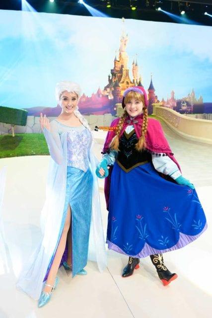 ディズニープリンセスでないアナとエルサ(アナと雪の女王)