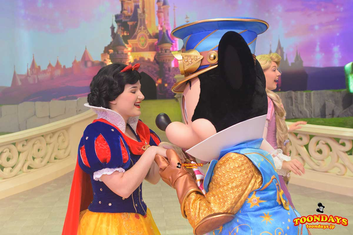 DLP 25周年 グリーティング ミッキーマウス 白雪姫