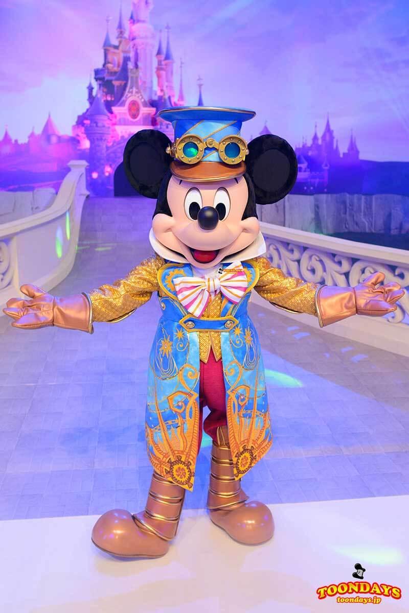 DLP 25周年イベント グリーティング ミッキーマウス 1