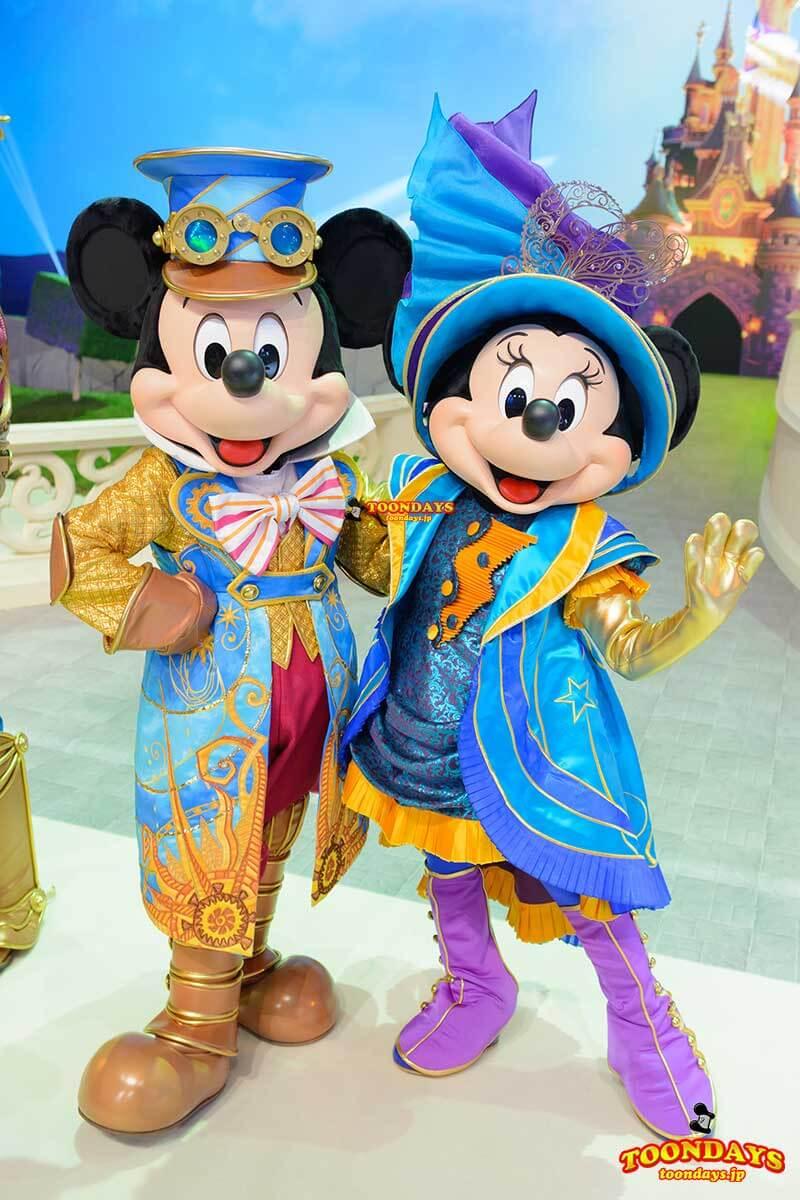 DLP 25周年イベント グリーティング ミッキーマウス ミニーマウス