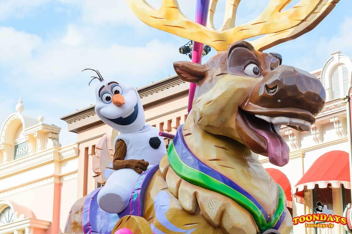 DLP ディズニー スターズ オン パレード 9
