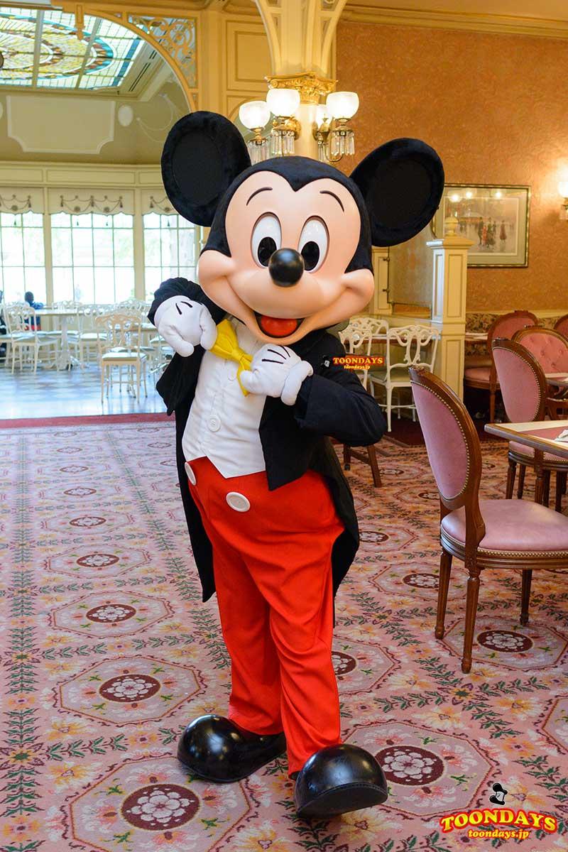 DLP プラザガーデンレストラン キャラクターブレックファスト グリーティング ミッキーマウス 1