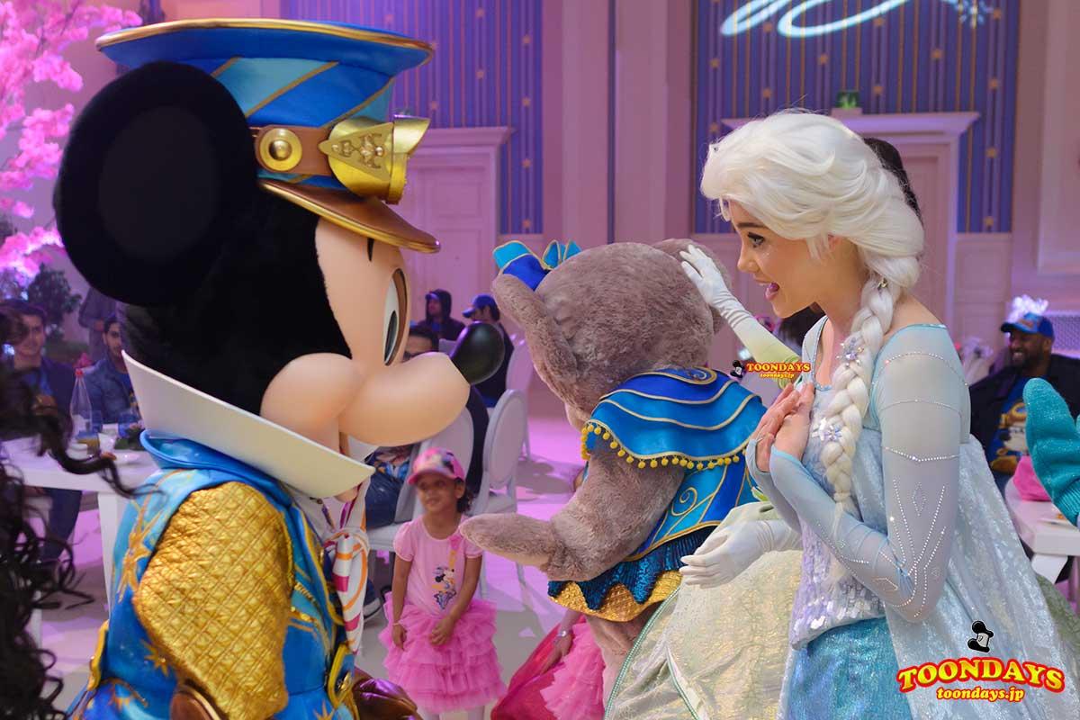 DLP 25周年 グリーティング ミッキーマウス エルサ