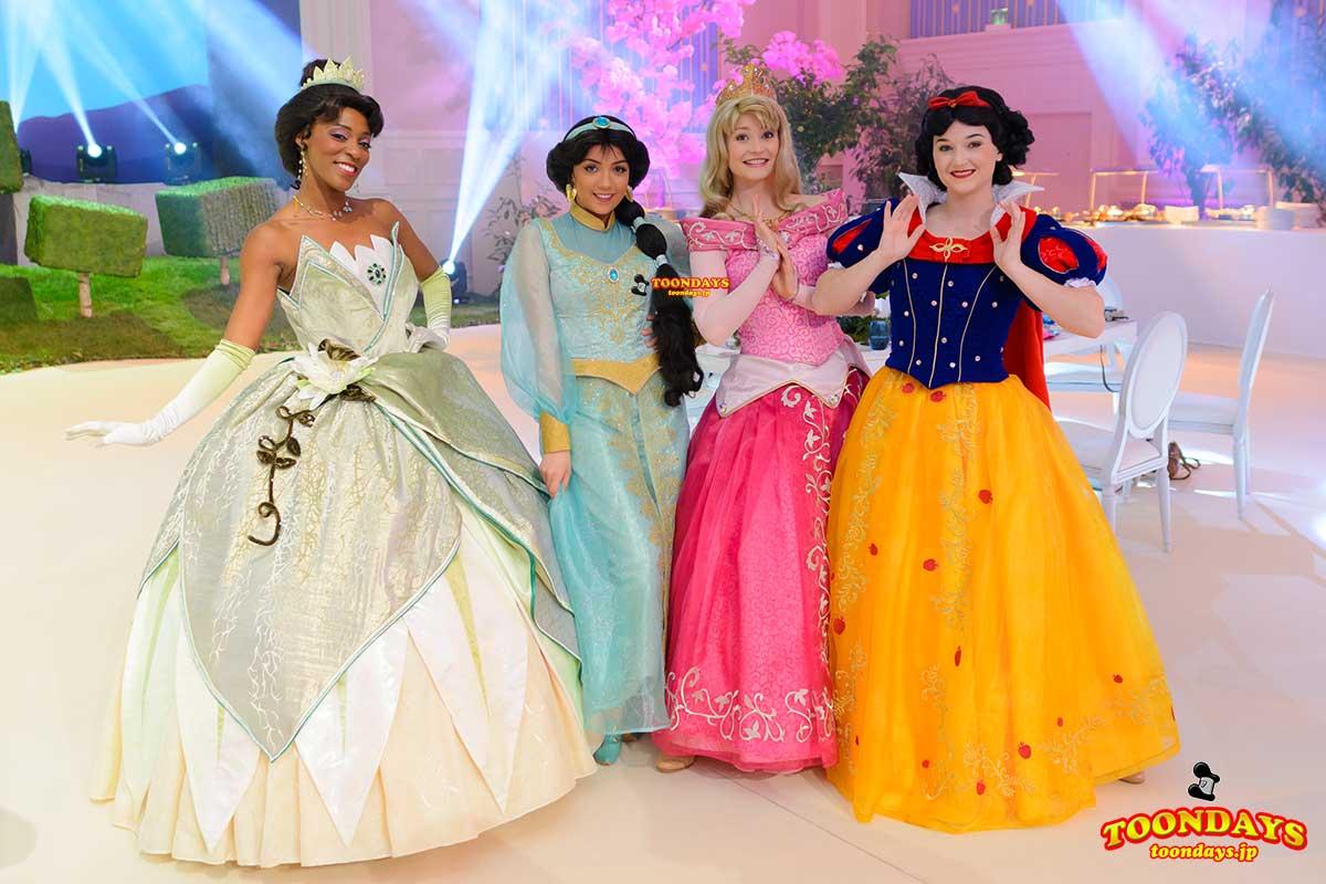 DLP 25周年 グリーティング ティアナ ジャスミン オーロラ姫 白雪姫