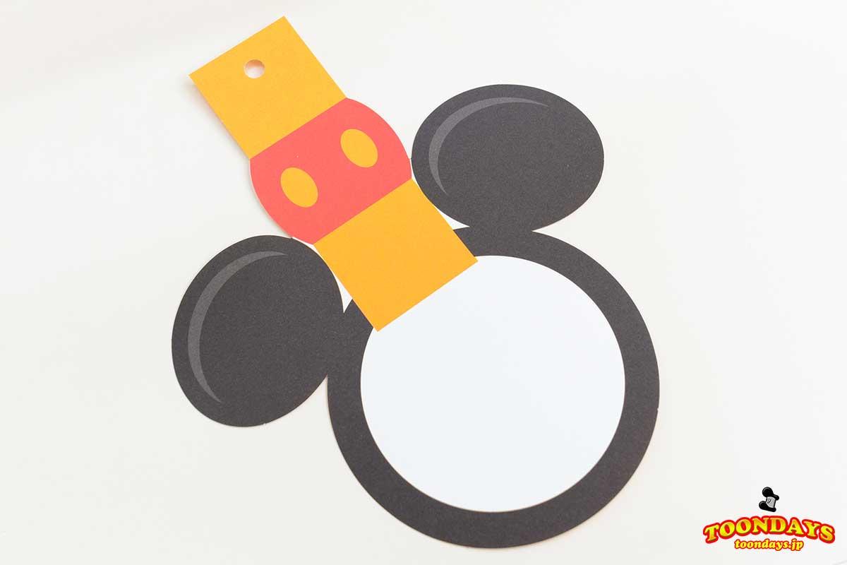 ディズニーリゾートラインデザインのウィッシングカード