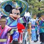 新しい七夕衣装のミッキー&ミニー!東京ディズニーランドの七夕グリーティング2017