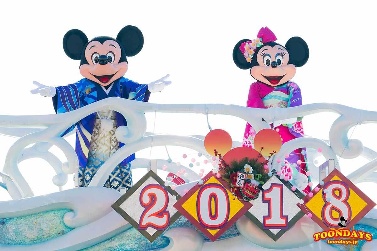 2018年は戌年!ディズニーランド&ディズニーシーお正月イベントまとめ