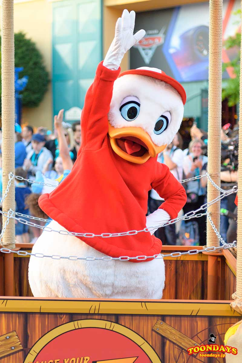Dance Your DuckTales Paradeのヒューイ