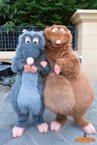 ディズニーランドパリの『ディズニーファンデイズ』レミーとエミール