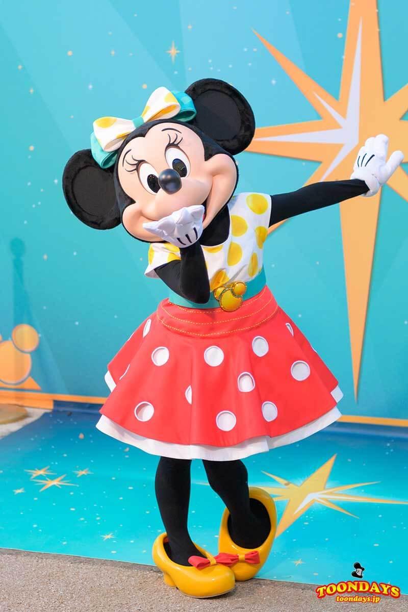 DLP Disney FanDaze グリーティング ミニーマウス
