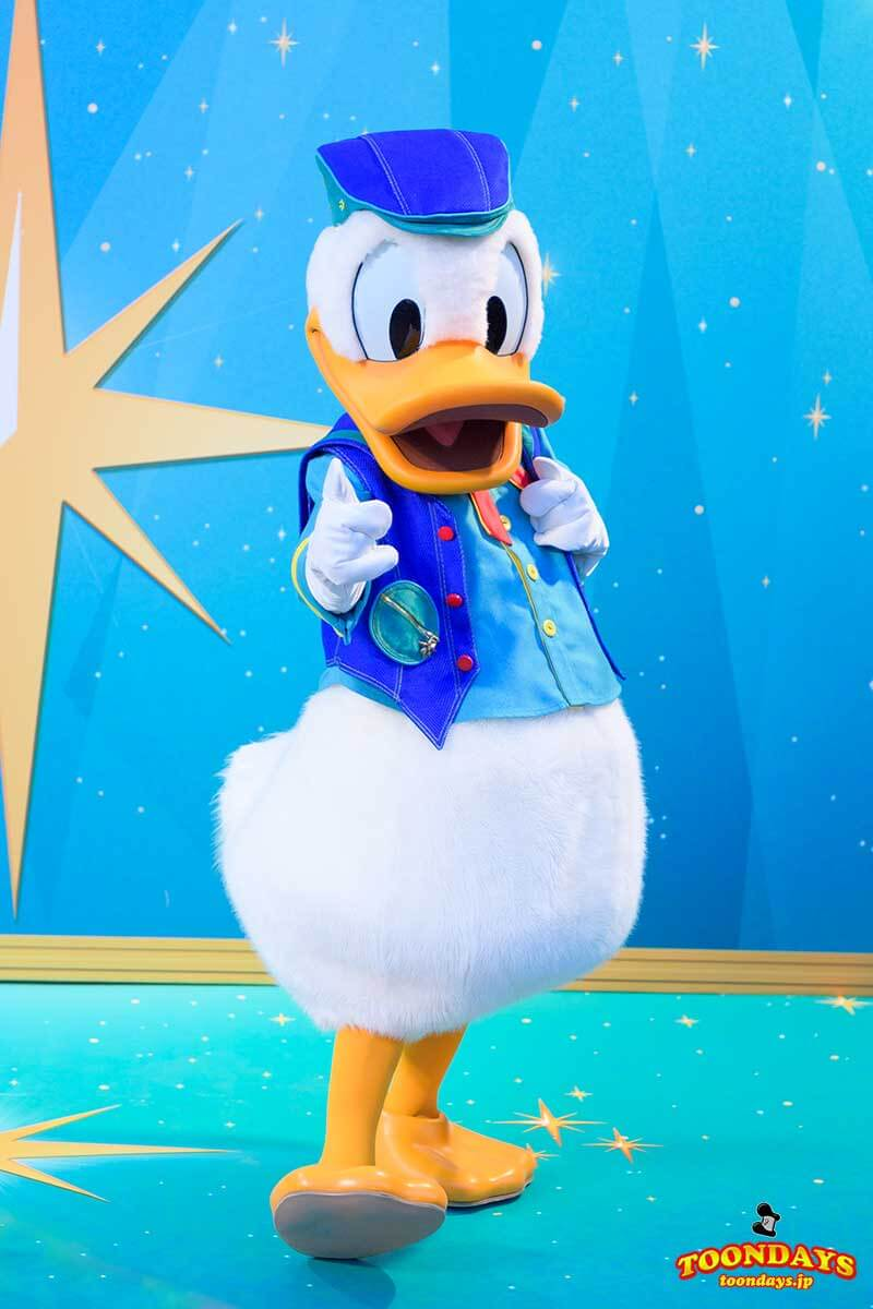 Disney FanDazeコスチュームのドナルドダック
