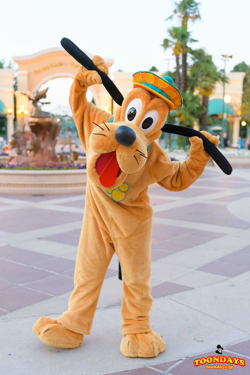 DLP Disney FanDaze グリーティング プルート