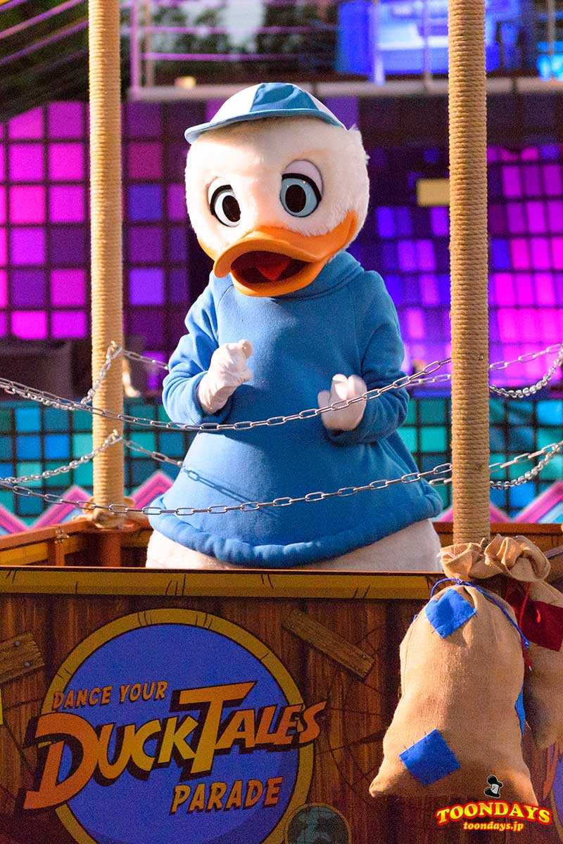 Dance Your DuckTales Paradeの デューイ