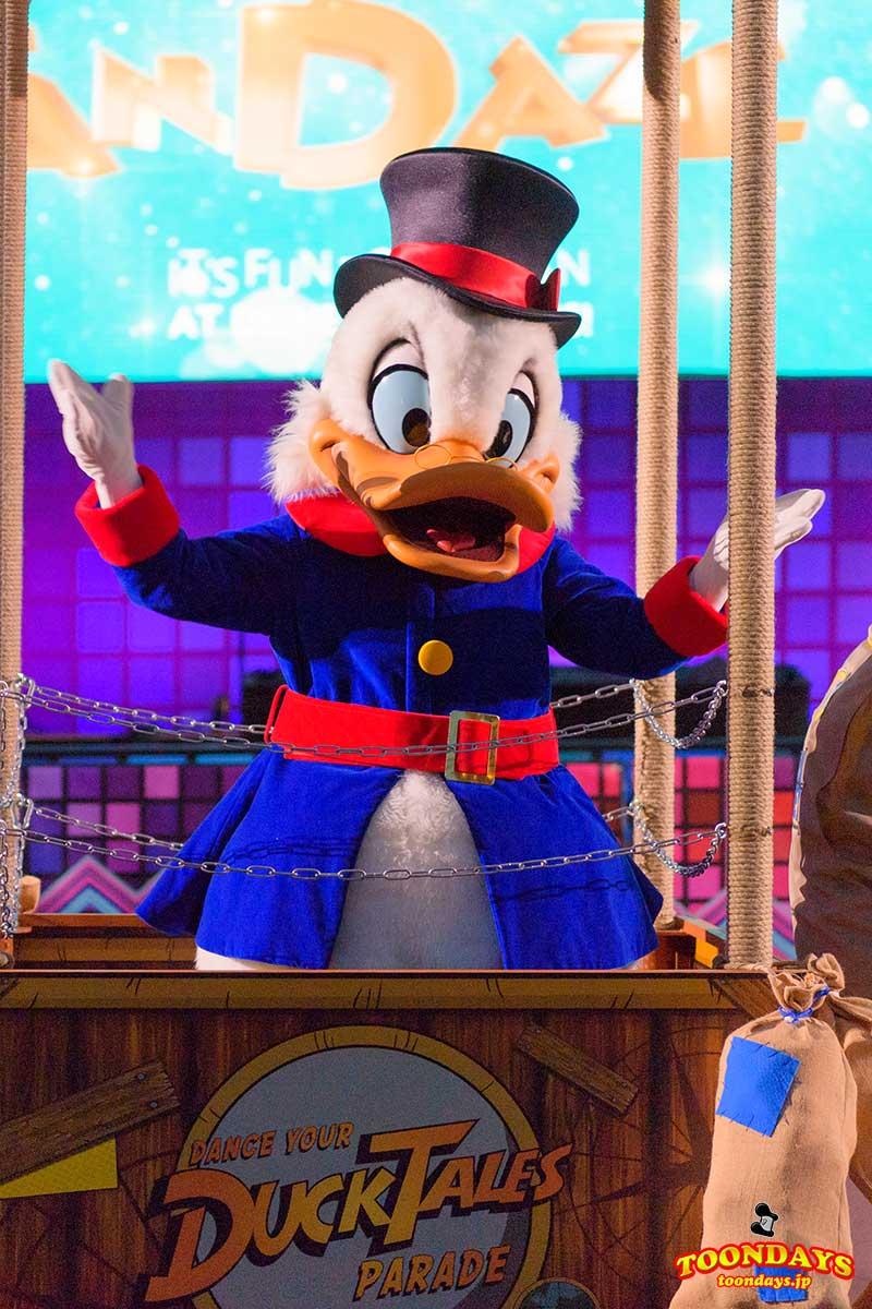 DLP Disney FanDaze Dance Your DuckTales Parade(ダンス・ユア・ダックテイルズ・パレード) スクルージマクダック