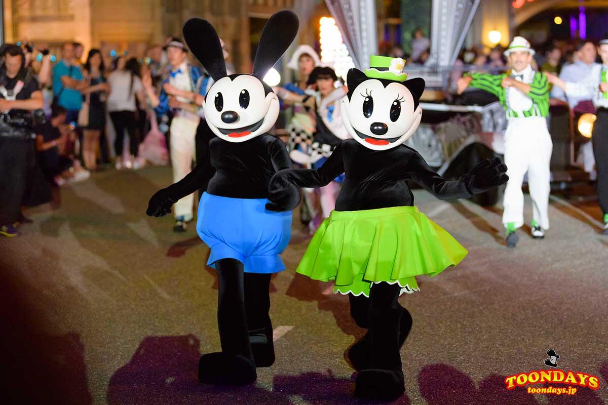 Disney FanDazeに登場したオズワルドとオルテンシア