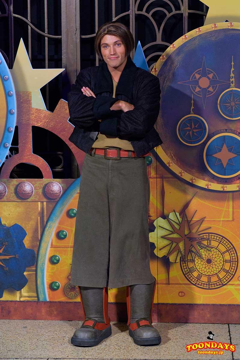 DLP Disney FanDaze グリーティング ジム・ホーキンス