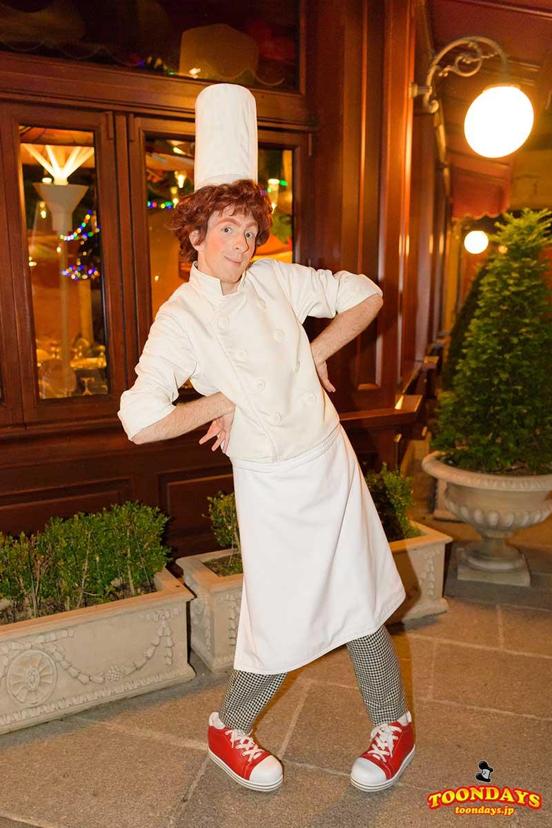 『レミーのおいしいレストラン』のリングイニもグリーティング