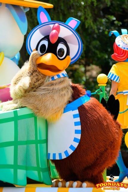 クララ・クラックは短編アニメの鳥キャラクター