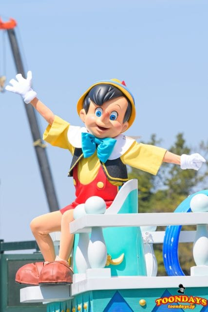 ドリーミング・アップ!に登場するピノキオ