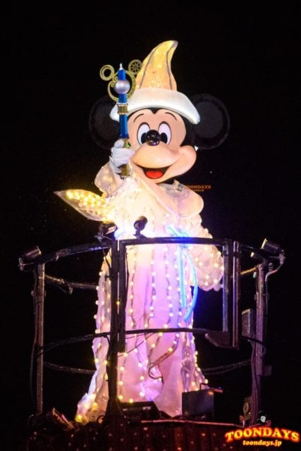 ファンタズミック!のミッキーマウス
