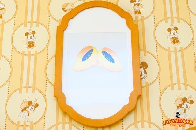 ミニーマウスルームのアート