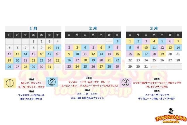 ベリー・ベリー・ミニー!の『ベリー・ミニー・リミックス』カレンダー