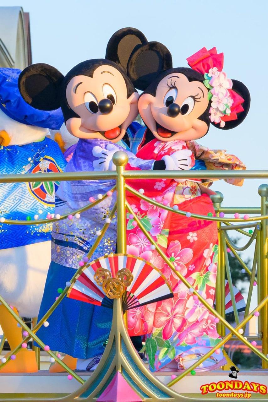 東京ディズニーランド「ニューイヤーズ・グリーティング2020」