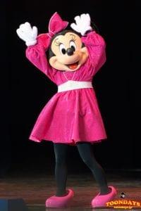 イッツ・ベリー・ミニー! 『スーパーダンシングマニア』衣装のミニーマウス
